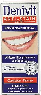 Denivit Anti-Stain Daily Whitening Toothpaste 50ml (Pack of 6)