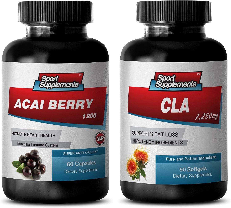 Weight Loss Powder Atlanta Mall - Max 67% OFF ACAI Berry Combo B 2 acai Diet CLA