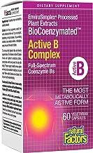Natural Factors, BioCoenzymated Active B Complex, 60 Capsules (60 Servings)