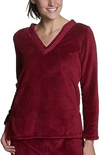 Nautica Women's Solid Super Plush Long Sleeve Tunic Top
