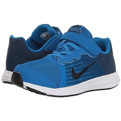 Nike Kids Downshifter 8 (Little Kid) (Blue Nebula/Dark Obsidian/Navy/White) Boys Shoes