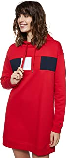 Tommy Hilfiger Women's Stella Hooded Long Sleeve Dresses