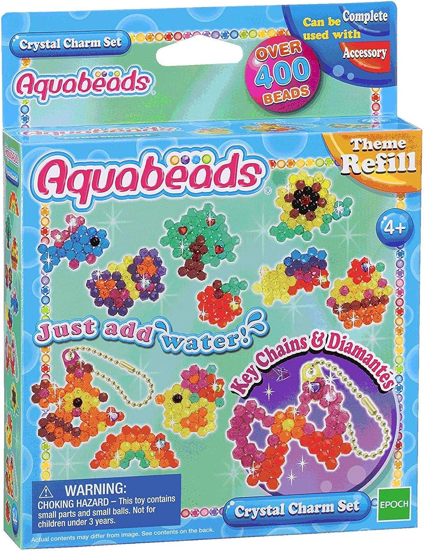 3 X Crystal Charm Set  Multicolor