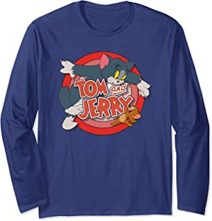 Tom and Jerry Cat & Mouse Long Sleeve T-Shirt