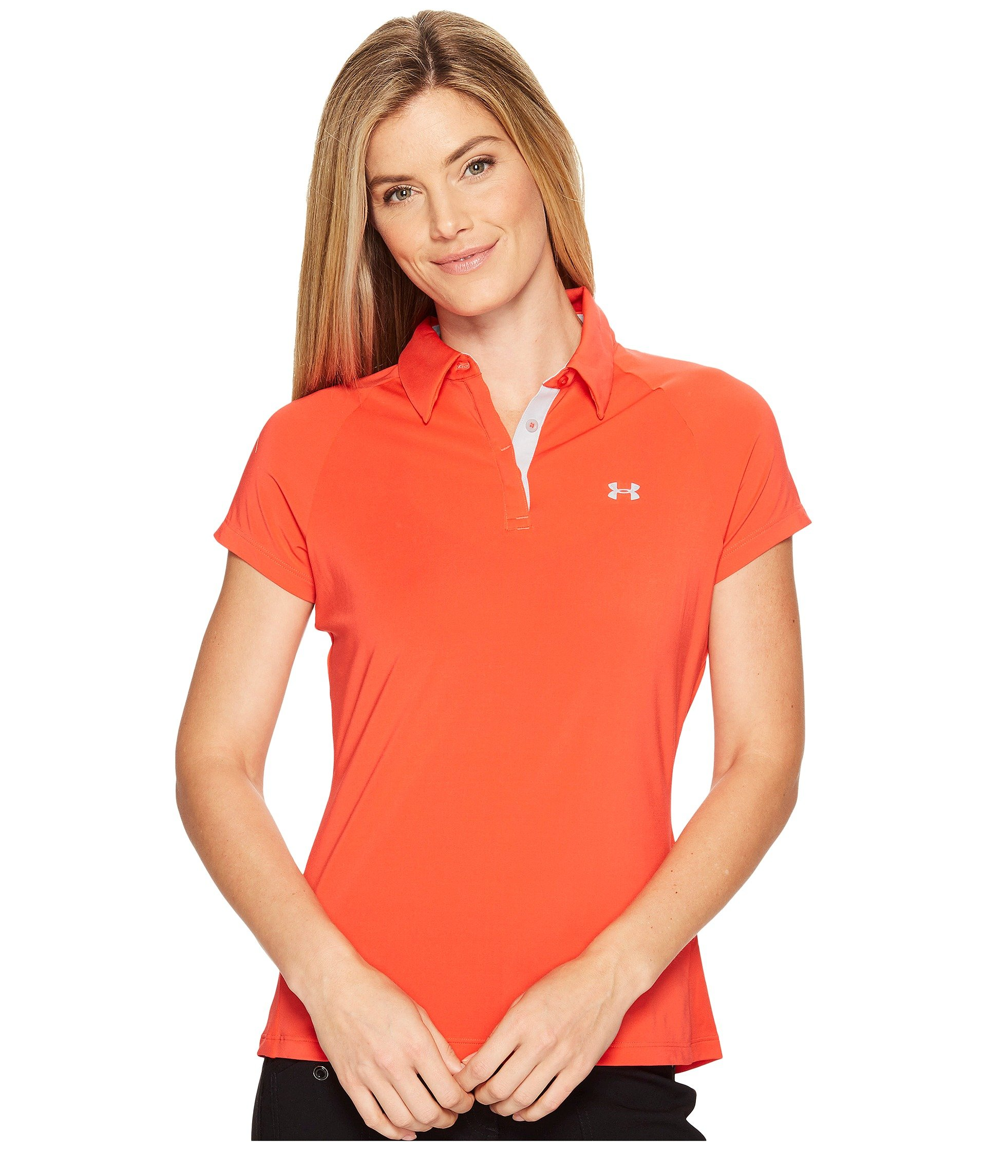 Camiseta Tipo Polo para Mujer Under Armour Golf Zinger UPF Short Sleeve Polo  + Under Armour en VeoyCompro.net