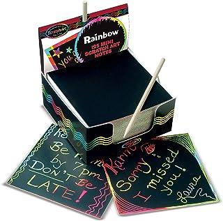 comprar comparacion Melissa & Doug- Box of Rainbow Mini Tarjetas para Dibujar, Multicolor (15945)