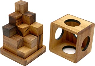 MONKEY POD GAMES Soma Cube 3D - Large