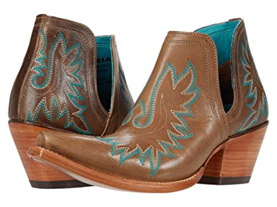 Ariat Dixon (Ash Brown) Cowboy Boots