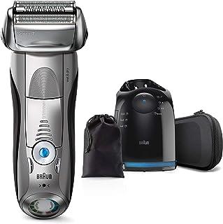 【洗浄器付き】 ブラウン シリーズ7 メンズ電気シェーバー 7899cc-P 4カットシステム 洗浄器付 水洗い/お風呂剃り可