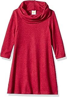 Crazy 8 Girls' Big Long Sleeve Casual Knit Dress