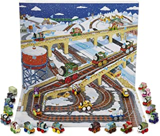 Thomas & Friends Calendario de Adviento Thomas y Sus Amigos para Niños Incluye 24 Locomotoras con Pista de Trenes de Juguete | Calendario Adviento 2018