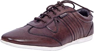 Maplewood Brown Genuine Leather Lincoln Shoes For Men
