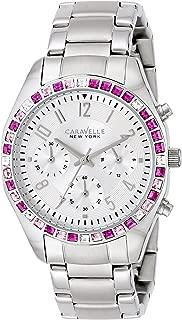 Caravelle New York by Bulova Women's 43L172 Analog Display Japanese Quartz White Watch