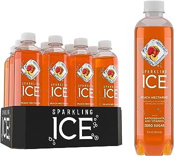 12-Pack Sparkling Ice Peach Nectarine Sparkling Water