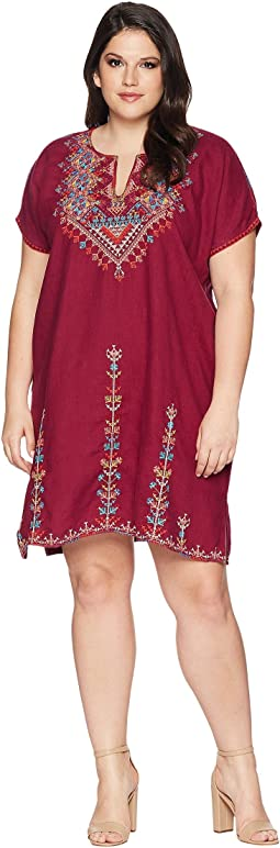 Plus Size Velsia Easy Tunic Dress