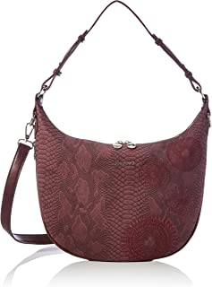 Desigual Accessories PU Shoulder Bag, Borsa a Tracolla. Donna, Rosso, U