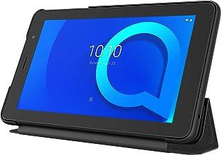 Alcatel 8068 1T 7 Tablet with Flip Cover -7 Inch, 16GB, 1GB RAM, Prime Black