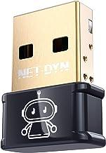 Sponsored Ad - NET-DYN Mini AC1300 USB WiFi Adapter for PC-2.4GHz | 5GHz (600/300Mbps), USB 3.0 Wireless Network Card Inte...