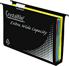 CRYSTALFILE(R) 111906 Suspension File Extra Wide, 50MM BX10