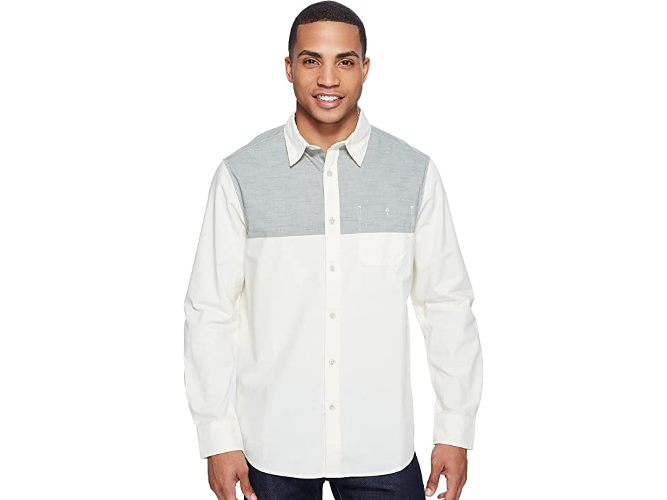 The North Face Long Sleeve Block Me Shirt (Thyme (Prior Season)) Men