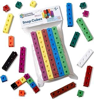 Learning Resources Cubes emboîtables (Jeu de 100), LER7584