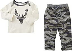 Mud Pie - Camo Pants Set (Infant)