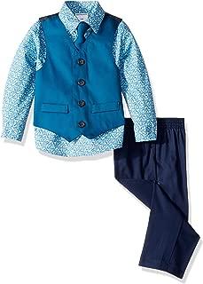 Van Heusen Baby Boys' 4-Piece Formal Dress Up Vest Set