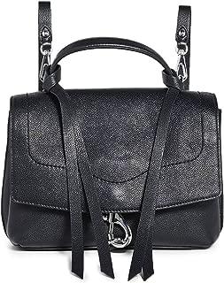 Rebecca Minkoff Women's Stella Medium Convertible Backpack, Black, One Size