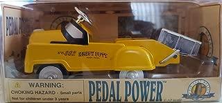 golden wheel pedal car