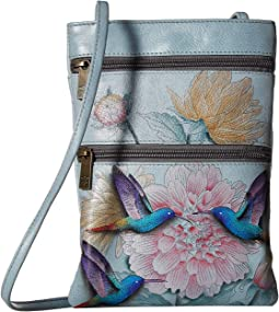 448 Mini Double Zip Travel Crossbody