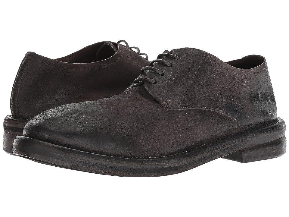 Marsell Bombolone Distressed Oxford (Dark Gray) Men