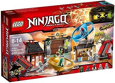 LEGO Ninjago Airjitzu Battle Grounds 666pcs Building Set - Building Games (8 Years), 666 Piece(s), 14 Year(s)