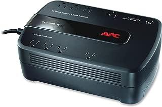 APC Back-UPS ES 8 Outlet 550VA 120V Half Load 13.5 minutes 165 Watts Typical Backup Time
