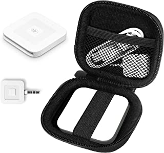 WGear Credit Card Reader Case for Square Contactless Chip Reader, Chip Reader Scanner, USB Cables Small Accessories, Mesh ...