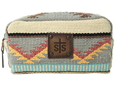 STS Ranchwear The Bebe Serape Cosmetic Bag (Tornado Brown/Sedona Serape) Cosmetic Case