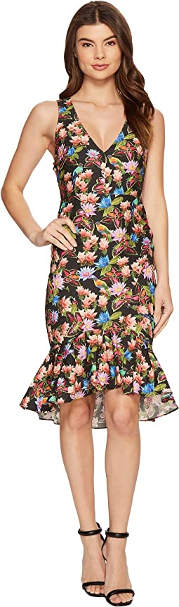 Nicole Miller - Whimsical Jungle Lamanca Dress