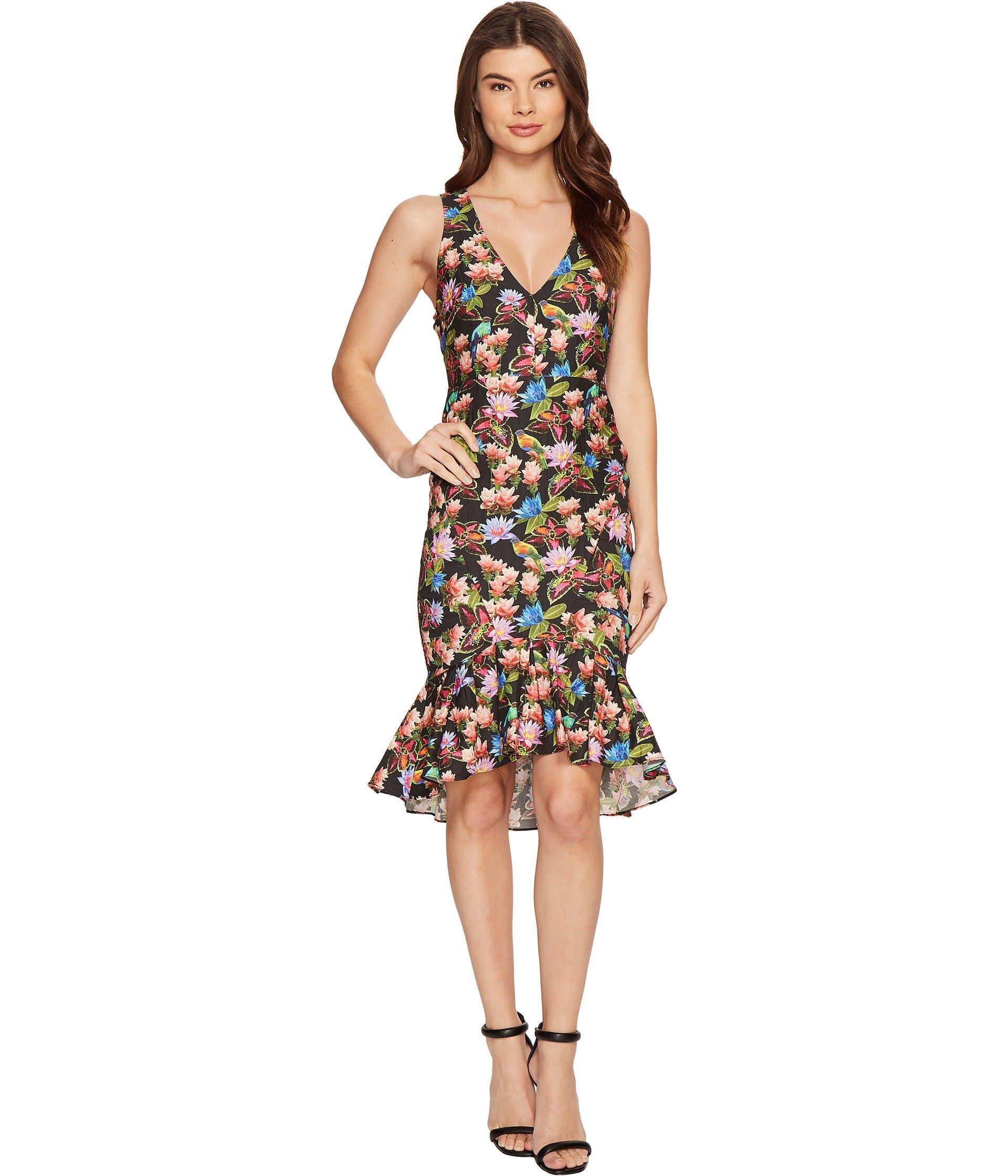 Whimsical Jungle Lamanca Dress