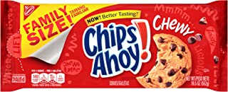 Chips Ahoy! Chewy Chocolate Chip Cookies - Family Size, 19.5 Ounce
