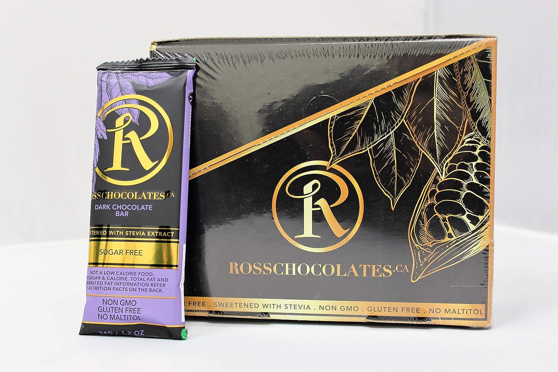 ROSS CHOCOLATES Keto Friendly Sugar Free Regular store Special sale item Chocolate Plain Dark