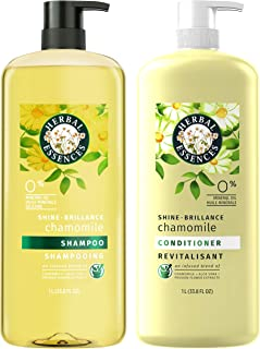 Herbal Essences, Shampoo and Paraben Free Conditioner Kit, Shine Collection, 33.8 fl oz, Kit