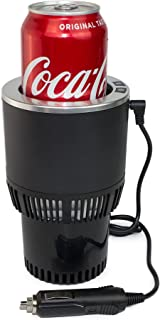 Mini Smart Car Cup Holder, Auto Electric Cup Drink Holder, Cooling and Heating Drink in Minutes,Plug & Play in 12V Car Pow...
