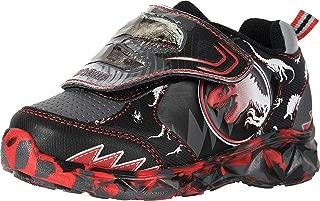 Jurassic World Lighted Sneaker (Toddler/Little Kid) Black/Red