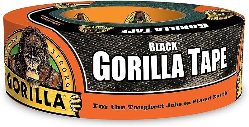 Gorilla Tape Black Duct Tape 1 88 X 35 Yd Black Pack Of 1