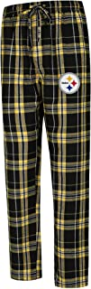 Concepts Sport Pittsburgh Steelers Hillstone Flannel Pants