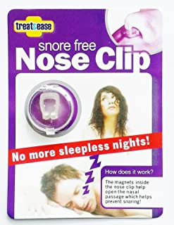 Snore Free Nose Clip - Anti Snoring Device - Quieter Restful Sleep