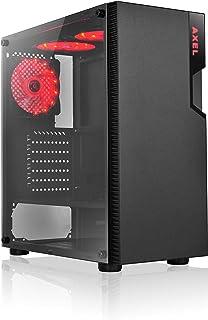 L-link Axel - LED Rojo USB 3.0 Cristal Templado