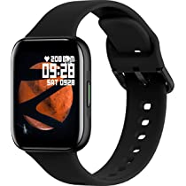 ZEBRONICS Zeb-Fit1220CH Smart Fitness Band, 2.5D Curved Glass Full Touch Display, SpO2