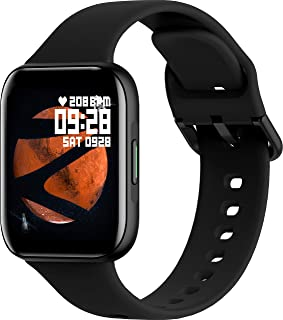 ZEBRONICS Zeb-Fit1220CH Smart Fitness Band, 2.5D Curved Glass Full Touch Display, SpO2, BP & Heart Rate Monitor, IP67 Wate...