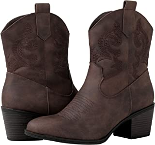 GLOBALWIN Women's The Western Boots