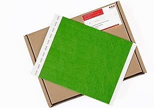 Cintapunto® - Tyvek pulseras 1000 unidades 1,9 cm, Pulseras para eventos 1000 unidades, Pulseras de papel Tyvek 1000 unidades, Tyvek wristbands (Verde Neón)